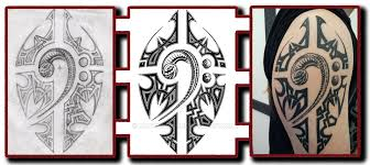 snake bass clef tattoo with celtic style art by madrussky on