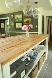 29 best kitchen island images on pinterest kitchen ideas diy gorgeous kitchen island with planked top