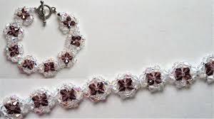 crystal bracelet swarovski images Swarovski crystal bracelet beading jewelry making tutorial jpg