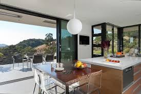 Patio Half Wall Half Wall In Kitchen Ideas Kitchen Contemporary With Clear Chairs