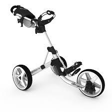 clicgear model 3 5 white golf push cart