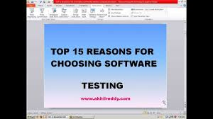 software testing resume samples for freshers top 15 reasons for choosing software testing career youtube