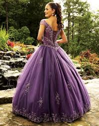 purple wedding dress purple gown wedding dress with cap sleevescherry