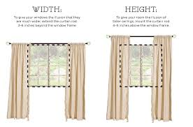 how long should curtains be how to hang drapes how to decorate