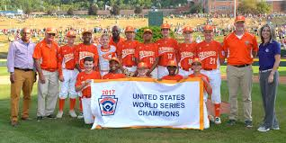 United States Of Baseball Map by 2017 Little League Baseball World Series