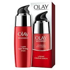 Serum Olay olay regenerist 3 point firming anti ageing ultra lightweight serum