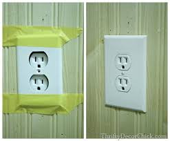 Light Switch Extender Making An Outlet Or Switch Flush From Thrifty Decor