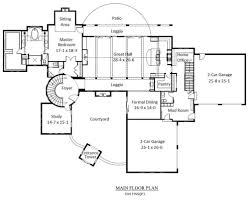 courtyard homes floor plans marvellous ideas 15 single story house plans 3800 square feet with