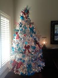 9 crazy colorful christmas trees blue u0026 red happy holidays