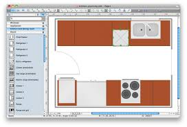 kitchen floor plans free flooring how to use appliances symbols for building plan kitchen