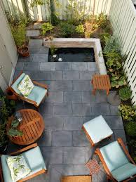 cozy intimate courtyards hgtv