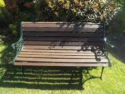 Heavy Duty Garden Benches Heavy Duty Garden Bench Cast Iron Ends In Bangor County Down