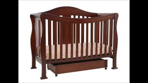 davinci emily 4 in 1 convertible crib davinci parker 4 in 1 crib with toddler rail coffee youtube