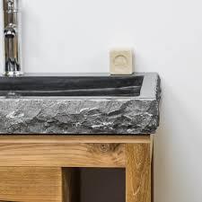 meuble sous vasque sur mesure meuble sous vasque teck massif