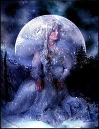 moon goddess by ka on deviantart