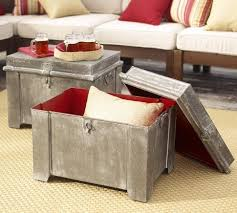Pottery Barn Cubes Metal Storage Cube Pottery Barn