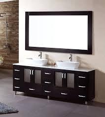 bathroom vanity cabinets for vessel sinks design element vs double