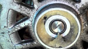 how to lubricate a fan motor hvac fan motor bearing failure youtube