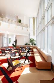 Bank Interior Design by Commune Converts Bank Into A Hotel In North Carolina