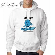 babaseal mr ice designer mens hoodies hoody sweatshirt men skate
