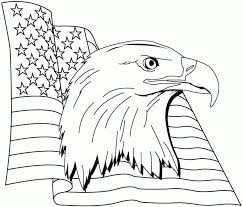 animal eagle coloring sheets printable for little kids 7695