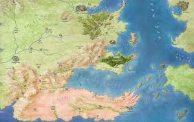 where is dorne fantastic maps