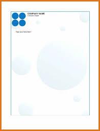 company letterhead template letter format business