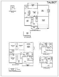 Floor Plan With Elevation by Floor Plans Talbot