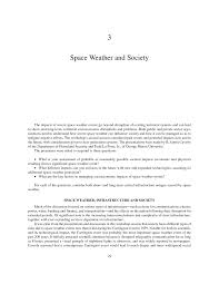 3 space weather and society severe space weather events