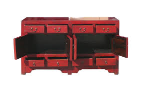 red buffet cabinet diy u2014 new decoration convert a red buffet cabinet