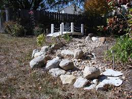 how to build a dry stream bed state by state gardening web articles