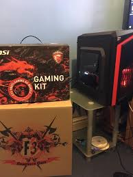 gaming setup ps4 980 ti full setup high end 4k gaming pc computer 980ti msi gaming