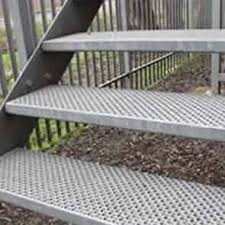 non slip stairs tread of perforated features and benefits