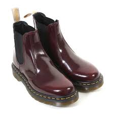 womens vegan boots uk dr martens s vegan 2976 cambridge brush chelsea boot cherry