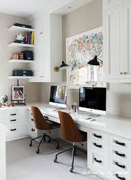 Furniture Unpolished Oak Wood Computer Desk Placed On Light Gray by Best 25 2 Person Desk Ideas On Pinterest Two Person Desk Home