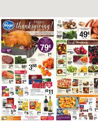 kroger weekly ad thanksgiving nov 18 2015