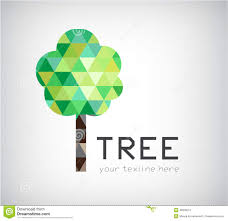 vector modern tree logo eco organic icon isolated 49926514