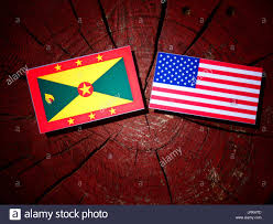 Flag Of Grenada Usa Grenada Stock Photos U0026 Usa Grenada Stock Images Alamy
