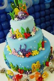 Ocean Cake Decorations Slip And Slide Party Cakes Pool Parties And Trips