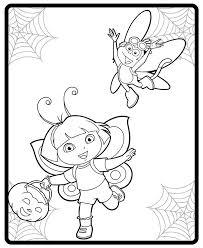 image dora boot halloween costumes coloring jpg dora