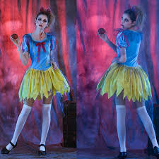 Halloween Bloody Mary Costume Zombies Princess Dress Halloween Horror Role Play Cosplay Stage