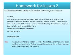 how do i write a letter of advice