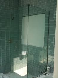 Corner Shower Glass Doors Frameless Corner Shower Doors The Home Depot Intended For Door