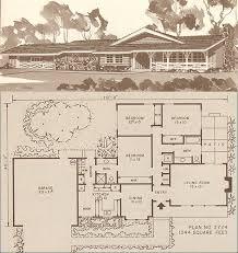 Storybook Homes Floor Plans C 1960 Storybook Ranch Plan By American Vintage Home Via Flickr