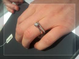 sydney wedding band wedding ring attach engagement ring and wedding band how do you