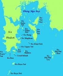islands map phuket islands map thailand phuket tourist information guide