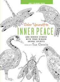 color yourself to inner peace book by sue coccia official