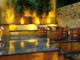 landscape design outdoor lighting for small backyards and