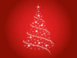 christmas trees vector christmas lights decoration