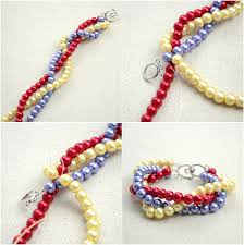 Jewelry Making Design Ideas Handmade Beaded Jewelry Designs Simple Pearl Bracelet And Ring Set